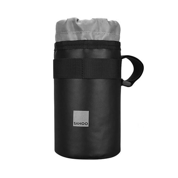 NEW-Sahoo Bike Bicycle Handlebar Insulated Drink Water Bottle Bag Kettle Cooler Bag