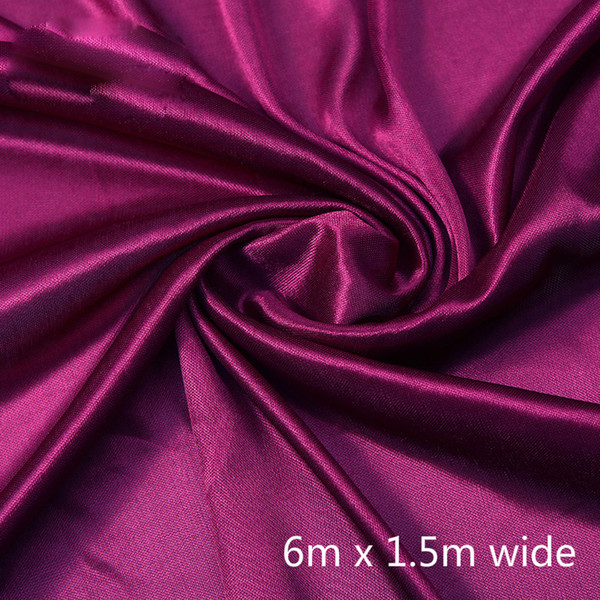1.5*6m red curtain