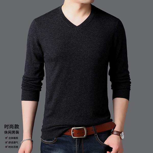 Pop2019 Spring Pattern Man Korean Easy 100% Cardigan Jacket Long Sleeve Rendering Unlined Upper Garment