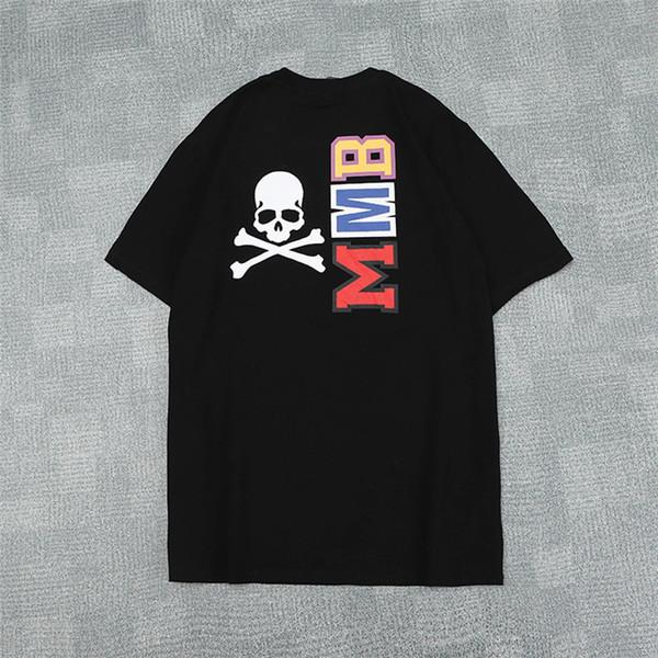 T-shirt a maniche corte T-shirt girocollo con maniche lunghe da uomo e donna estate 2019 spedizione gratuita190
