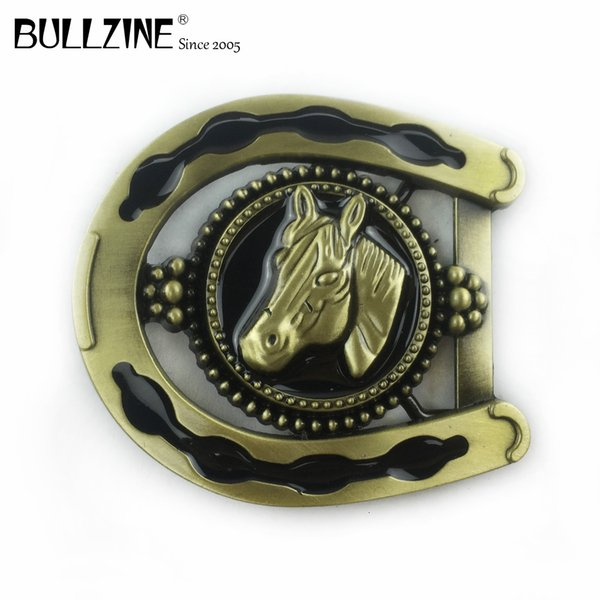 Boucle de Ceinture Buckle Pour Changement Ceinture Modèle Horse