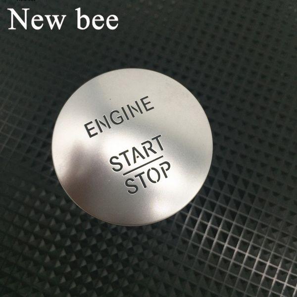 Newbee Start Stop del motore Pulsante Keyless Go Interruttore di accensione universale Per C200 A45 G55 S63 ML350 GLK350 S350