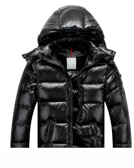 Kapüşonlular Siyah Mavi Doudoune Homme Hiver'de Marque Dış Giyim Parka ceket M11 Down With Jacket Ördek Sıcak Tasarımcı ceketler Kış Ceket Erkek Beyaz