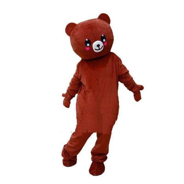 2019 costume caldo della mascotte di anime dell'orsacchiotto della mascotte di rilakkuma di alta qualità trasporto libero
