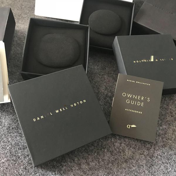 DW Original Schmuck Box Ring Armband Geschenkbox mit DW Schmuck Taschen Garantiekarte Rechnung Einkaufstasche