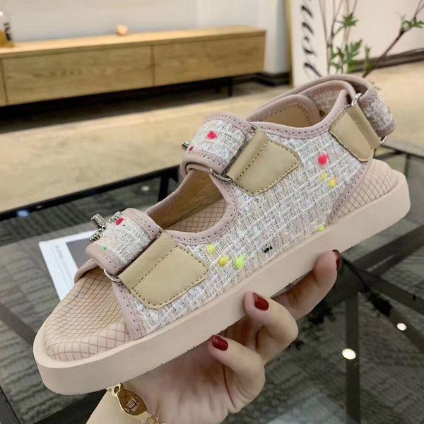 haute qualité dames sandales boutique voyage simple fond épais daim daim marque de mode sexy bout ouvert dames creux occasionnels femmes chaussures