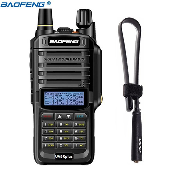 top popular 2020 Baofeng UV-9R plus 15w IP67 Waterproof Walkie Talkie High Power CB Ham 20KM Long Range UV9R portable Two Way Radio for hunting 2021