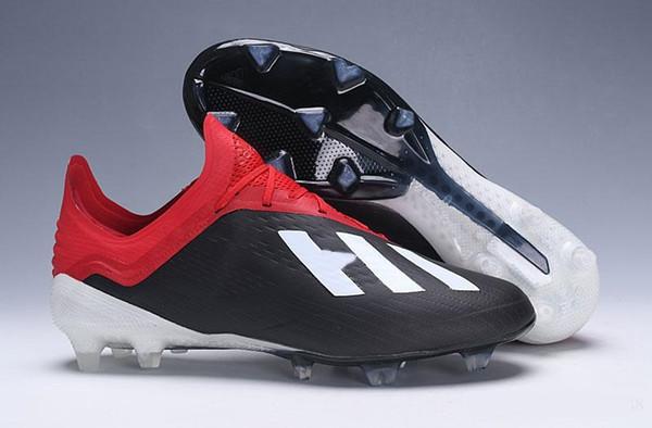 Yeni Geldi 2019X18 + 18.1 FG Futbol Erkek Futbol Ayakkabıları Salah İsa Düşük Ayak Bileği Futbol Açık Çizmeler Calcio SKELETALWEAVE Futbol Cleats