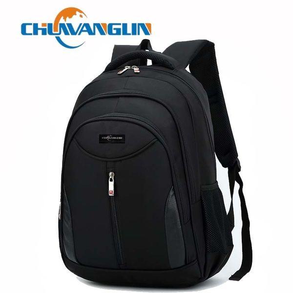 Chuwanglin Men's Backpack Men Knapsack Laptop Backpack The Package Bag Waterproof Business Backpack School Bags Zdd851 Y19061102