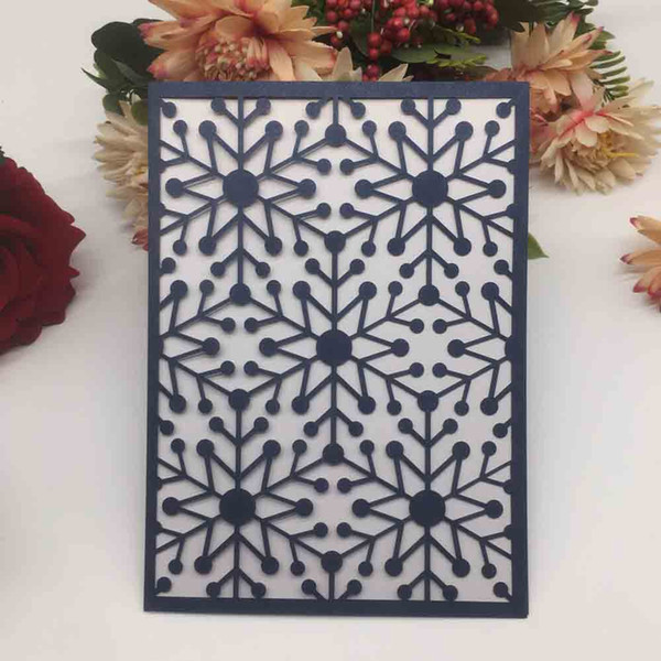 Five Star Pattern Novel Design Invitation Card Using For Wedding Party Festival Grand Events Birthday Party Supplies