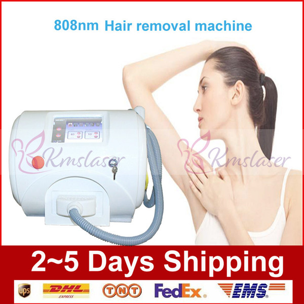 Shipping Free!!!Portable 2000W 808nm diode laser hair removal spa equipment with 1000,000 shoots