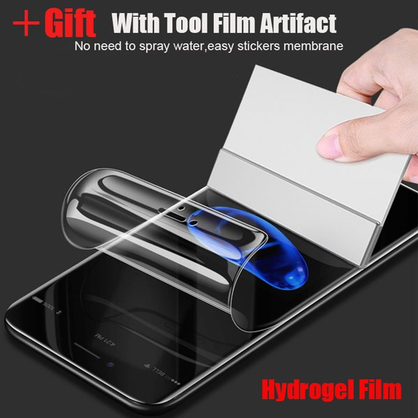 Full Soft Hydrogel Film For Huawei P30 P20 Pro Mate 20 Lite For Huawei P30 Pro Screen Protector Film Honor 8X 10 Lite 7X V20