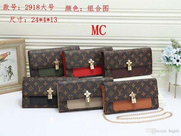 2918-1 # MC NEW Лучшая цена Высокое качество женщин дамская сумочка сумка рюкзак сумка кошелек кошелек-1