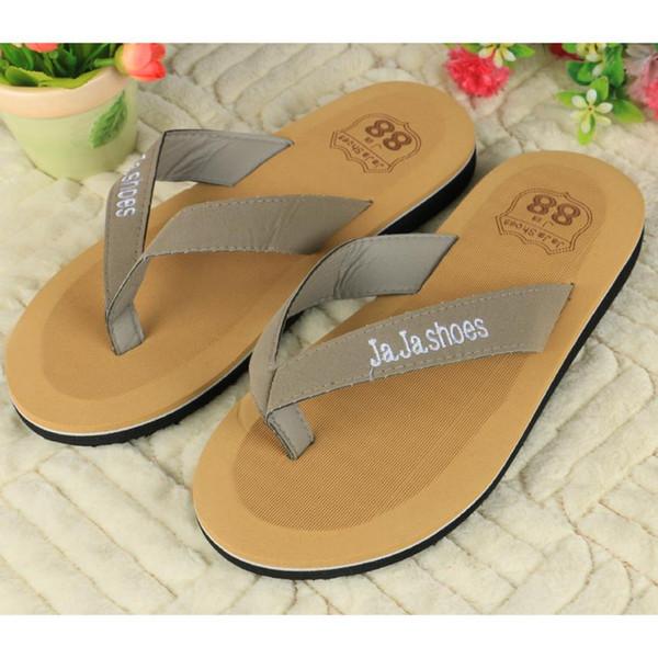 Splendid Big Size 40-44 Men Sandals New Flip Flops Men Beach Slippers For Summer Shoes Flat Sandals Flip Flops 2016