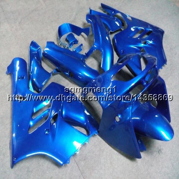 23colors+Screws blue Motorcycle cowl For Kawasaki ZX-9R 1994 1995 1996 1997 ABS motor Fairing