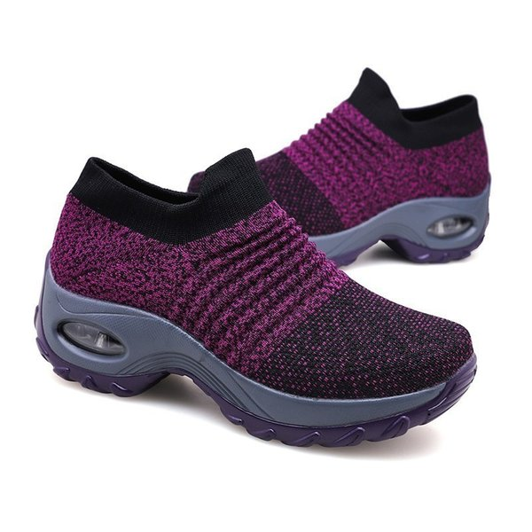 hot sell  woman Hiking Shoes Antiskid Mountain Climbing footwear Outdoors Increased bottom Antiskid lace-up Trekking Shoes