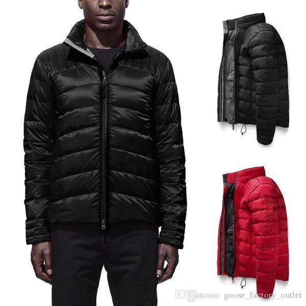 Haute qualité 2019 hommes Canada BROOKVALE veste en duvet Outdoor Sport parka manteau Casual Outfit hommes DHL Livraison gratuite