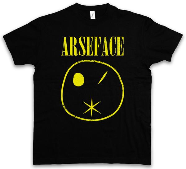 ARSEFACE T-SHIRT TV Garth Cassidy Kurt Eugene Lale Vaiz Comic Kök EnnisFunny ücretsiz kargo Unisex Rahat Tişört üst