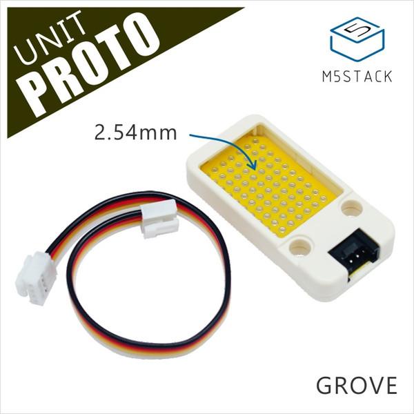 M5Stack Resmi Mini Proto Kurulu Ünitesi Evrensel Çift Yan Prototip 2.54mm PCB Grove Liman Uyumlu ESP32 Geliştirme Kiti