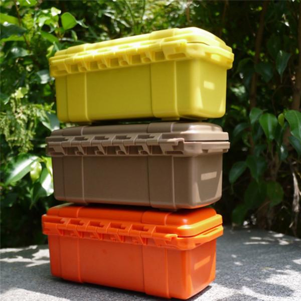 Outdoor Container Storage Case Airtight Waterproof Prevent vibration Carry Box caja de almacenamiento de pl stico grande #LS