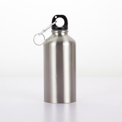18oz/500ml Outdoor sports bottle stainless steel kettle children kettles 3 colors climbing kettle water bottle best gift cups Drinkware