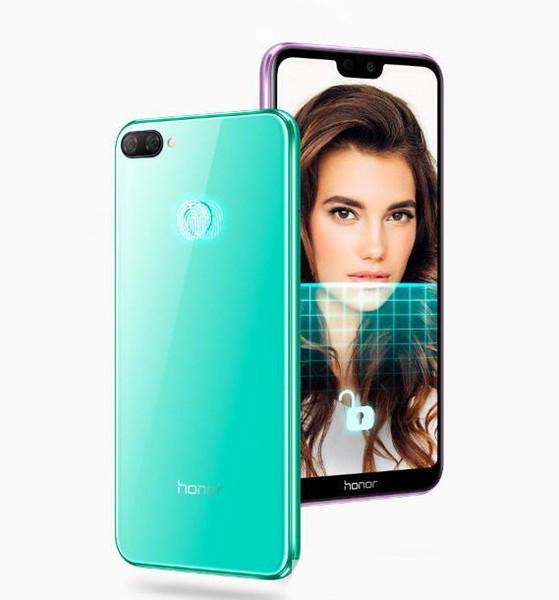 Última 5.84 pulgadas Huawei honor 9i Teléfono Android original Octa Core EMUI 8.0 Dual Sim Desbloqueo Smartphone 4GB RAM 64GB ROM Android Android 8 Celular