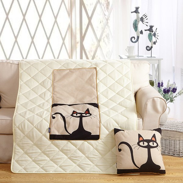 edredones invierno Winter Quilt Home Dual-use cotton Pillow Sofa Comforter Multifunctional car sofa cushions Quilt