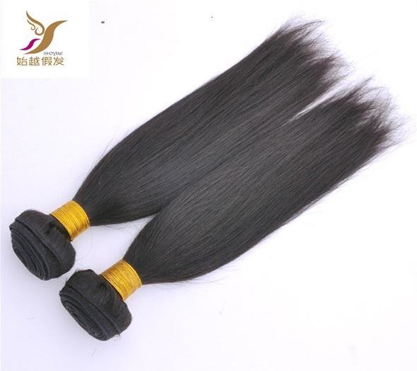 Natural Color Peruvian Straight Hair Extensions 100% Human Hair Bundle 10-30 Inchs Brazilian Virgin Hair Weaving