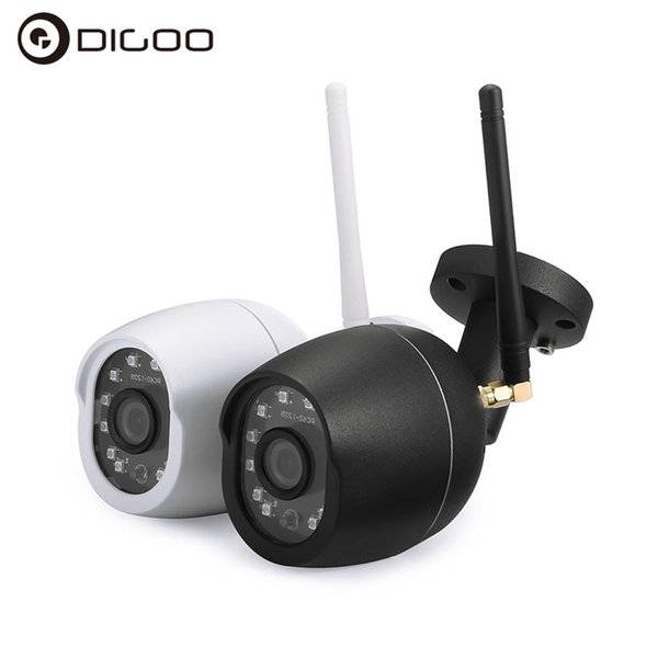 2018! Digoo DG-W01f Cloud Camera Storage 3.6mm Lens 720P Waterproof for Outdoor WIFI 25m IR Distance Motion Record Video