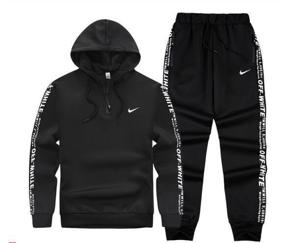 magasin en ligne a8a64 e4ebb 2019 NIKE 2019 Men Active Set Tracksuits Hoodies Sweatshirt +Pant Sport  Track Suits Jogging Sets Survetement Femme From Lasa101, $57.68 | DHgate.Com