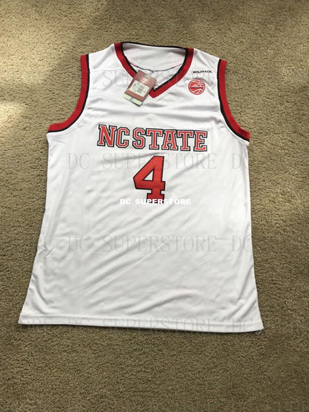 best sneakers 1f255 b9fc2 2019 Cheap Custom Dennis Smith Jr NC State Wolfpack NCAA Basketball Jersey  Stitch Customize Any Number Name MEN WOMEN YOUTH XS 5XL From Dc_superstore,  ...