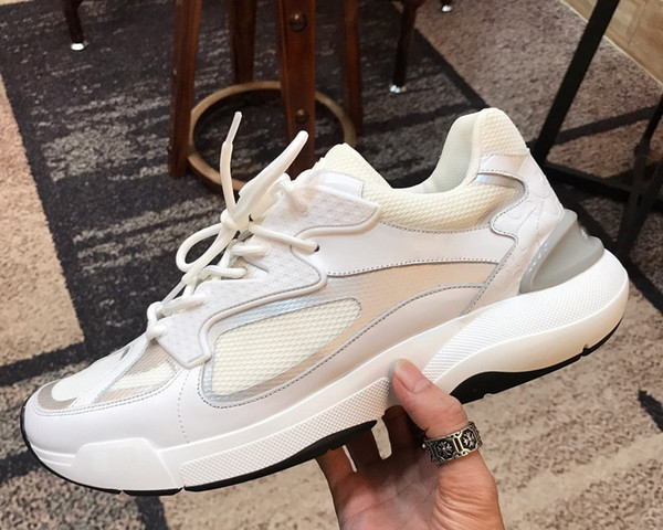 Brand Men High Top Skateboard shoe Sport Trainers fashion sneakers TPU Vulcanized Canvas shoes Low Top Street Casual Print White shoe,38-45