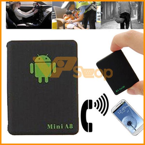 Mini A8 GPS Tracker Globale Echtzeit 4 Frequenz GSM SOS GPRS Sicherheit Auto Tracking Device Unterstützung Android Für Auto Kinder Haustier Fahrzeug