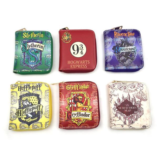 Harry Potter Letter Zip Around Wallet Fashion Women Wallets Designer Brand Purse Lady Party Wallet Female Card Holder Free DHL 1086