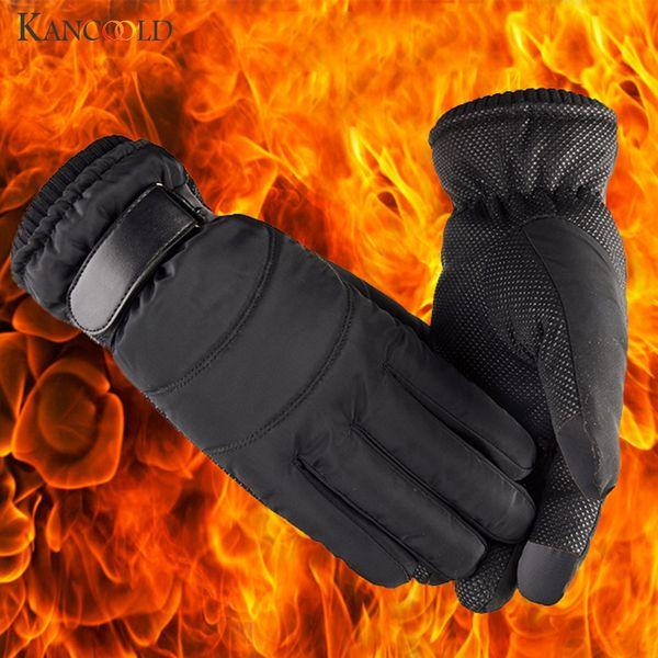 KANCOOLD Gloves Winter Outdoor Wind Proof Glove Ski Riding Warm Mountain Climbing Outdoor Mitten soft gloves women 2018NOV24