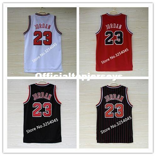 top popular 2019 New #23 Michael MJ Top Basketball Jersey Embroidery Stitched US Size S-XXL vest Jerseys Ncaa 2019