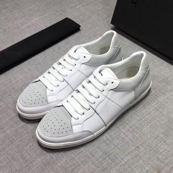 Zapatillas de diseñador de lujo superior Zapatillas de deporte para hombre para mujer Zapatos de plataforma de cuero blanco Zapatos de boda de fiesta casuales planos Suede Sports Sneake RD 38-44 01