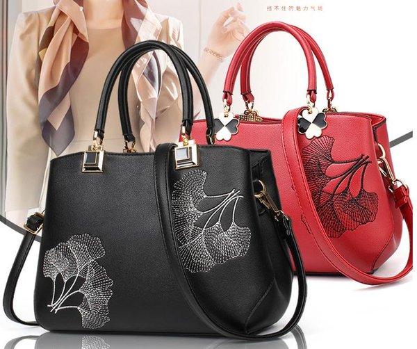 New Designer Handbags snake leather embossed fashion Women bag128