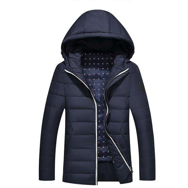 Mens Winter&Autumn Down Jacket Coat Pop Parkas Men Warm Mens Coat Down Jacket