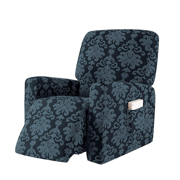 Prime 2019 Subrtex Elegant Jacquard Recliner Chair Cover Stretch Spandex Sofa Slipcovers Covers Furniture Protector With Elastic Bottom Side From Subrtex Machost Co Dining Chair Design Ideas Machostcouk