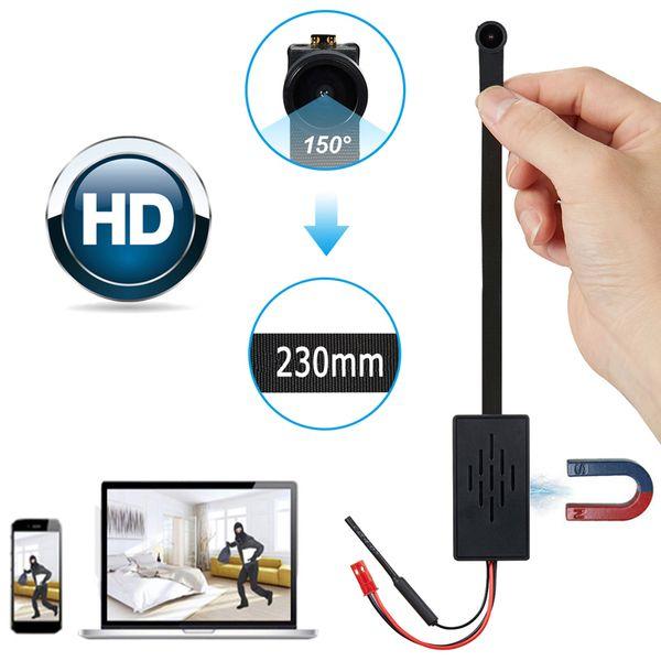 Wide Angle Fish Eye Len HD Wifi Module Portable P2P Internet Camera Cube Vide Cop Video Recorder