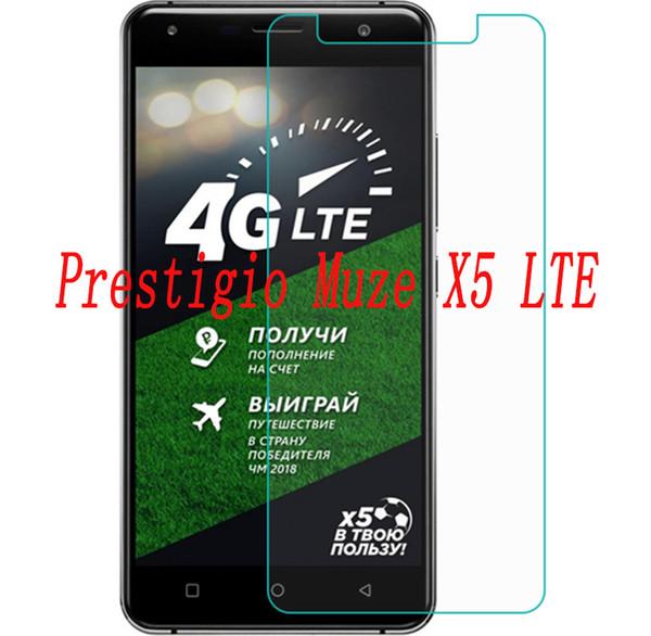 2 STÜCKE NEUE Displayschutzfolie für Prestigio Muze X5 LTE telefon Gehärtetem Glas SmartPhone Film Schutzfolie abdeckung