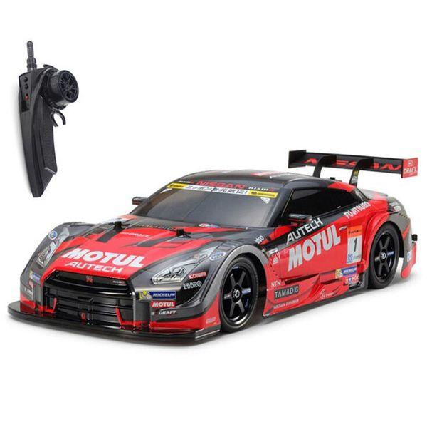 GTR Model Rc Car 4WD Drift Racing Cars Championship 2.4G Off Road Rockstar Radio Remote Control Car Electronic Hobby Toy