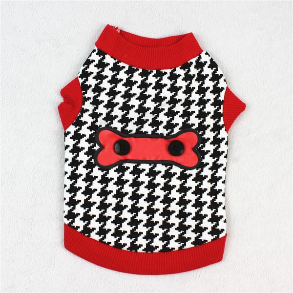 Christmas Dog clothe Pet Cat Vest t Summer Apparel Cartoon Cotton Clothing t shirt Jumpsuit Outfit pet supply DHL Free