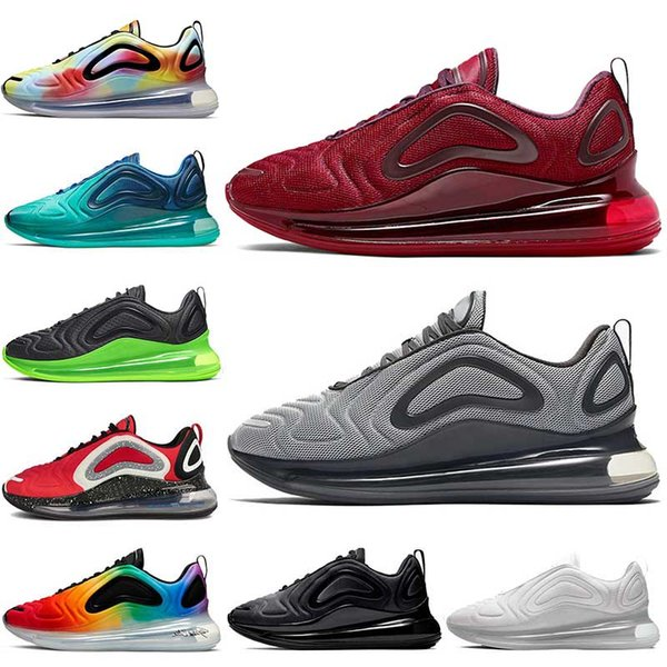 2019 Nike Air Max Airmax 720 Zapatillas De Running Para Hombre University Red Sea Forest Be True Trainers Black PINK Womens Sneakers Por