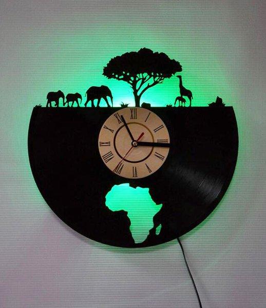 على مدار الساعة مع أضواء led المكونات ac