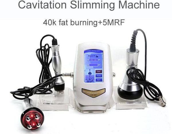La máquina ultrasónica más nueva de la cavitación 40K cavitaciones de todo el cuerpo que adelgaza la máquina Fuerte 5MRF Ultra Celulitis Eliminación Cuerpo salud 2019