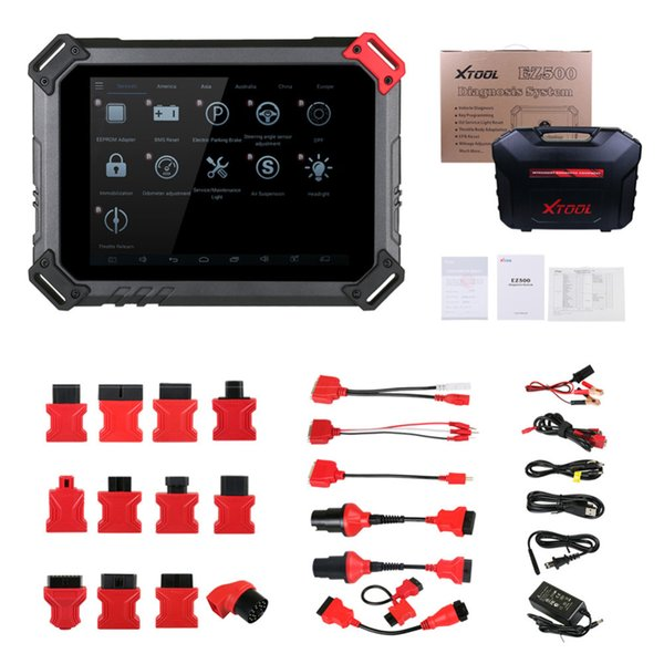 Xtool EZ500 Car Diagnostic Tool Full System Diagnosis Special Function Engine ABS ACM CDS COM SRS DPF WIF For Gasoline Vehicle