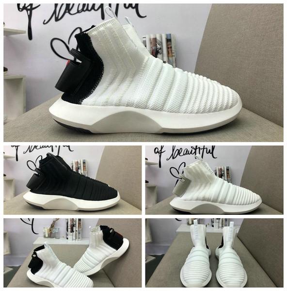 2018 Adidas New Crazy 1 ADV Meia PK Dart Light Como Crazy Primeknit Calçados Esportivos Executar Sneakers Frete Grátis Sapatos Casuais