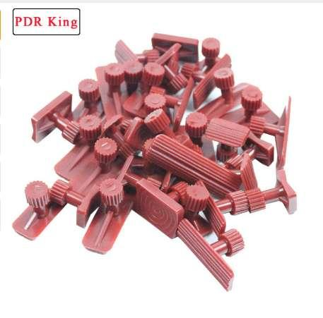 18 pcs guias de cola dent levantador ferramentas de Remoção de Dente Ferramenta Paintless Kits de Cola Conjuntos Extrator de Cola ferramentas PDR Super pdr cola guias